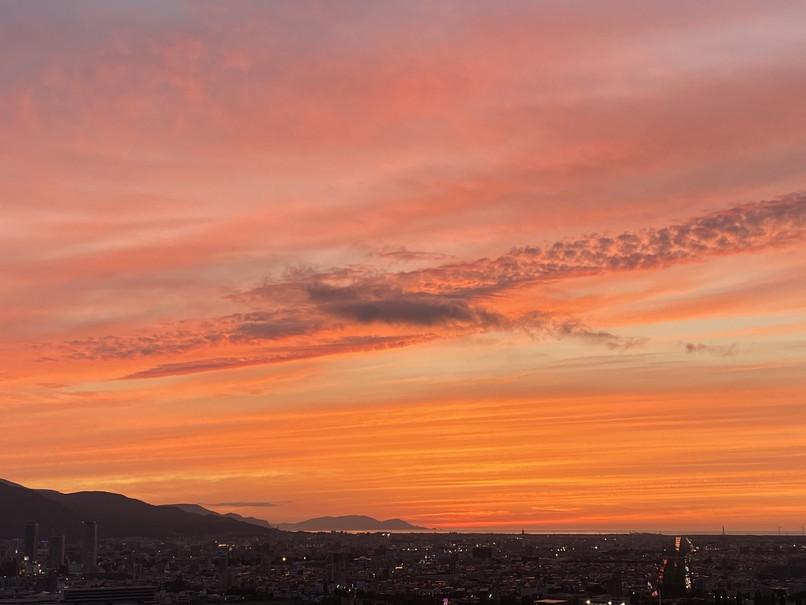 """2020年6月 『6月の夕日、夕焼け』 June 2020 \""""The Sunset & The Evening Glow in June\""""_c0219616_14360777.jpg"""