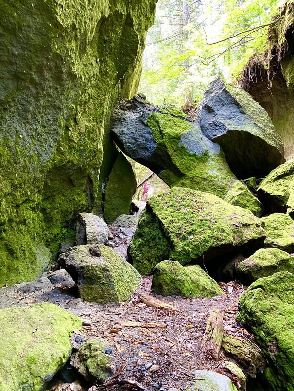 """2020年7月 『支笏湖 風不死岳、苔の峡谷』 July 2020 \""""Gorge of Moss, Mt Huppusi\""""_c0219616_14494308.jpg"""