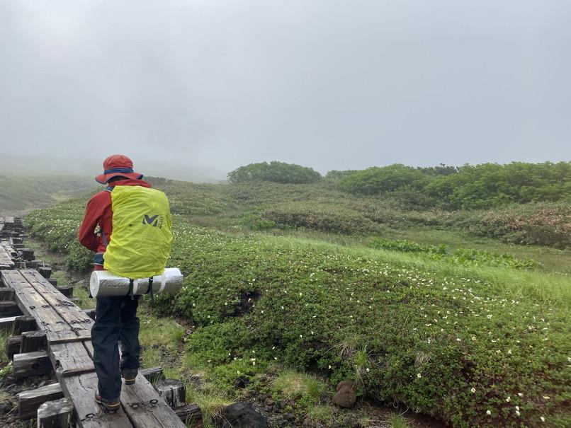"""2020年7月 『大雪山縦走、旭岳からトムラウシへ』 July 2020 \""""Trekking of Mt Taisetsu\""""_c0219616_15545012.jpg"""