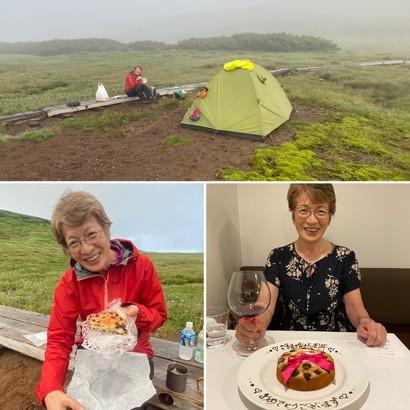 """2020年7月 『大雪山縦走、旭岳からトムラウシへ』 July 2020 \""""Trekking of Mt Taisetsu\""""_c0219616_15545152.jpg"""