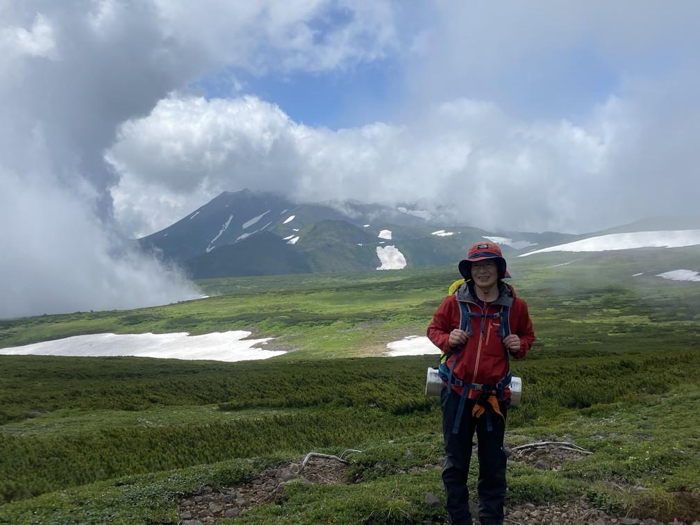 """2020年7月 『大雪山縦走、旭岳からトムラウシへ』 July 2020 \""""Trekking of Mt Taisetsu\""""_c0219616_16070428.jpg"""
