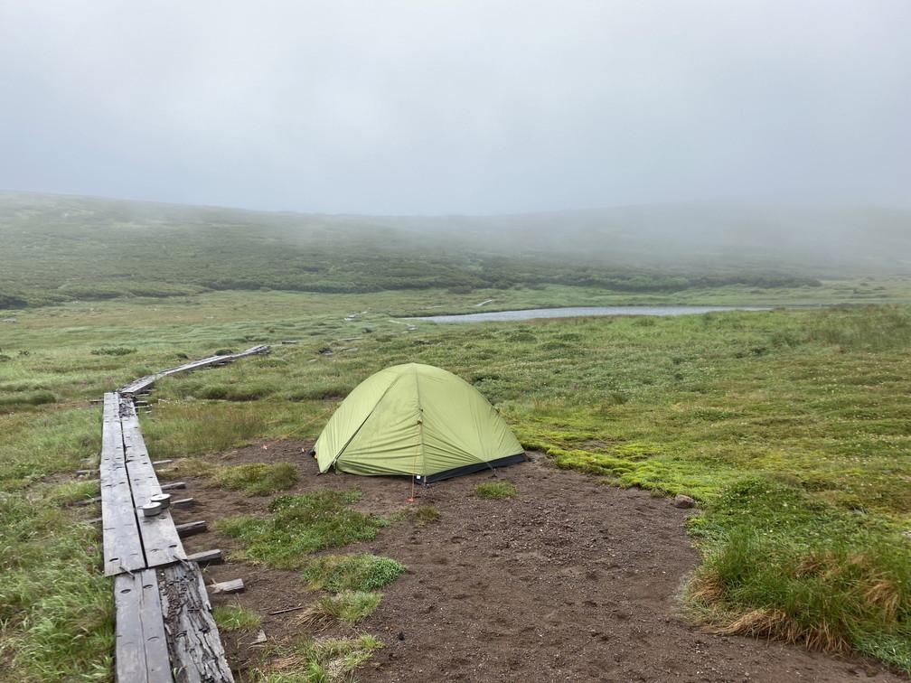 """2020年7月 『大雪山縦走、旭岳からトムラウシへ』 July 2020 \""""Trekking of Mt Taisetsu\""""_c0219616_16070470.jpg"""