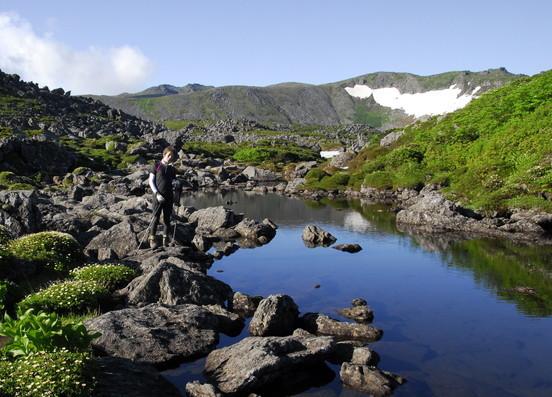 """2020年7月 『大雪山縦走、旭岳からトムラウシへ』 July 2020 \""""Trekking of Mt Taisetsu\""""_c0219616_16071602.jpg"""