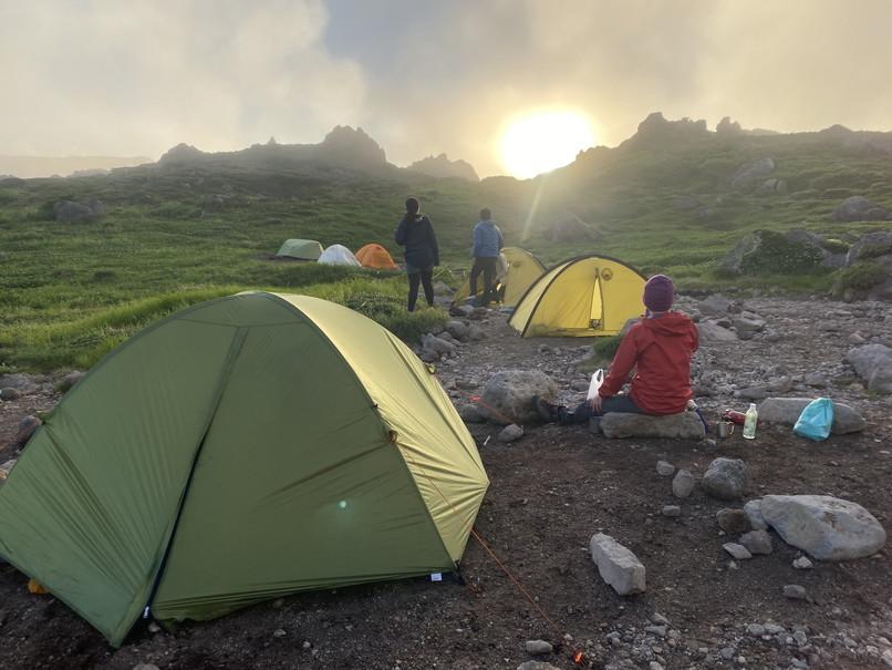 """2020年7月 『大雪山縦走、旭岳からトムラウシへ』 July 2020 \""""Trekking of Mt Taisetsu\""""_c0219616_16180340.jpg"""