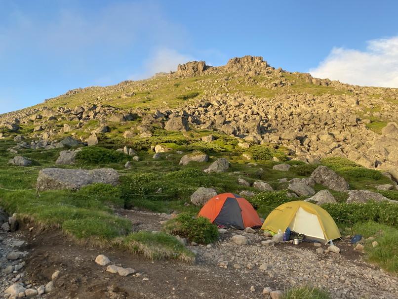 """2020年7月 『大雪山縦走、旭岳からトムラウシへ』 July 2020 \""""Trekking of Mt Taisetsu\""""_c0219616_16180416.jpg"""