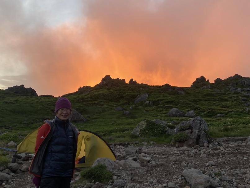 """2020年7月 『大雪山縦走、旭岳からトムラウシへ』 July 2020 \""""Trekking of Mt Taisetsu\""""_c0219616_16180442.jpg"""