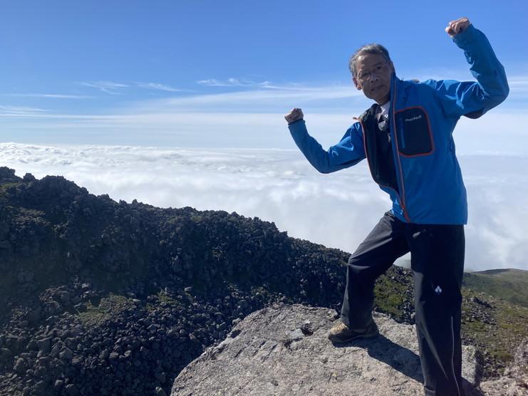 """2020年7月 『大雪山縦走、旭岳からトムラウシへ』 July 2020 \""""Trekking of Mt Taisetsu\""""_c0219616_16223118.jpg"""
