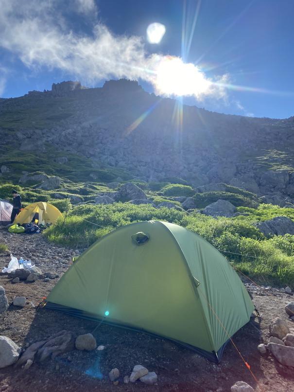 """2020年7月 『大雪山縦走、旭岳からトムラウシへ』 July 2020 \""""Trekking of Mt Taisetsu\""""_c0219616_16223170.jpg"""