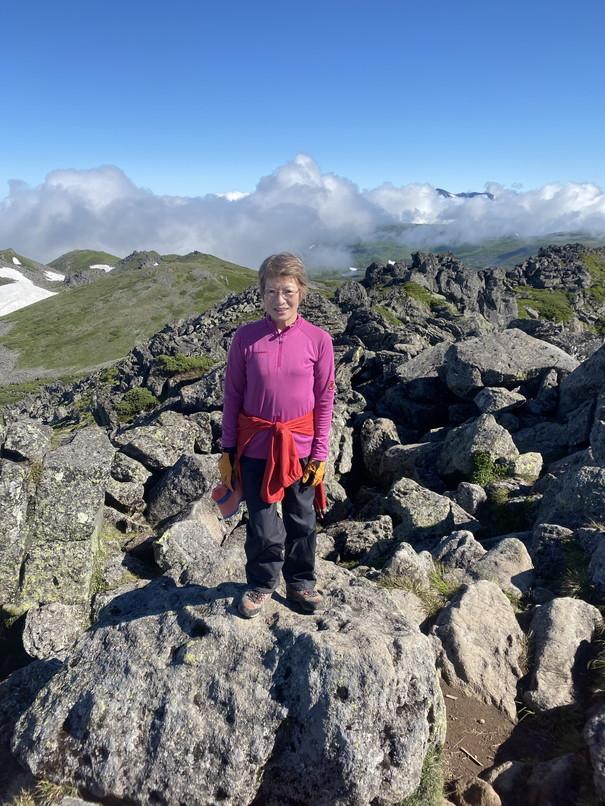 """2020年7月 『大雪山縦走、旭岳からトムラウシへ』 July 2020 \""""Trekking of Mt Taisetsu\""""_c0219616_16223180.jpg"""