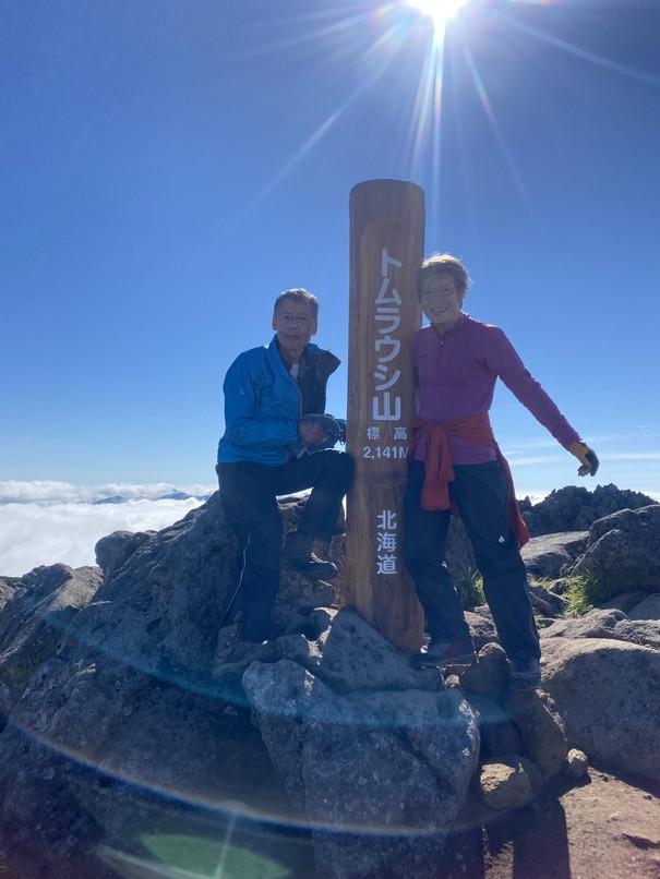 """2020年7月 『大雪山縦走、旭岳からトムラウシへ』 July 2020 \""""Trekking of Mt Taisetsu\""""_c0219616_16223194.jpg"""