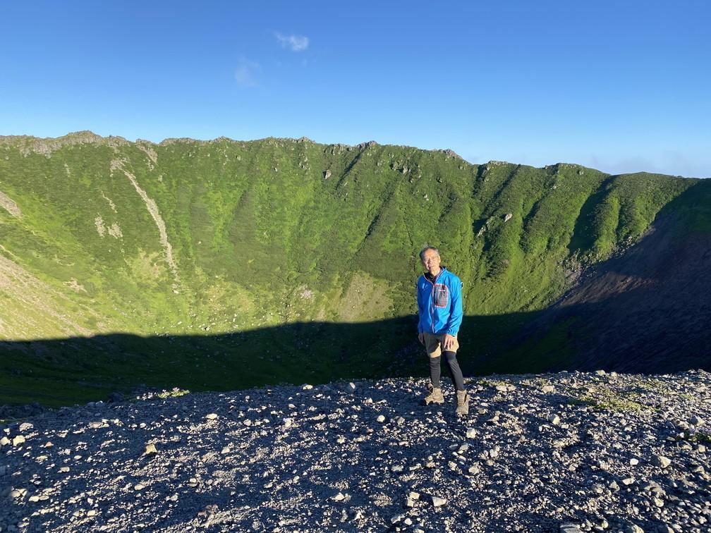 """2020年7月 『羊蹄山、山頂ビバーク』 July 2020 \""""Bivouac on the Summit Mt Yotei\""""_c0219616_16565364.jpg"""