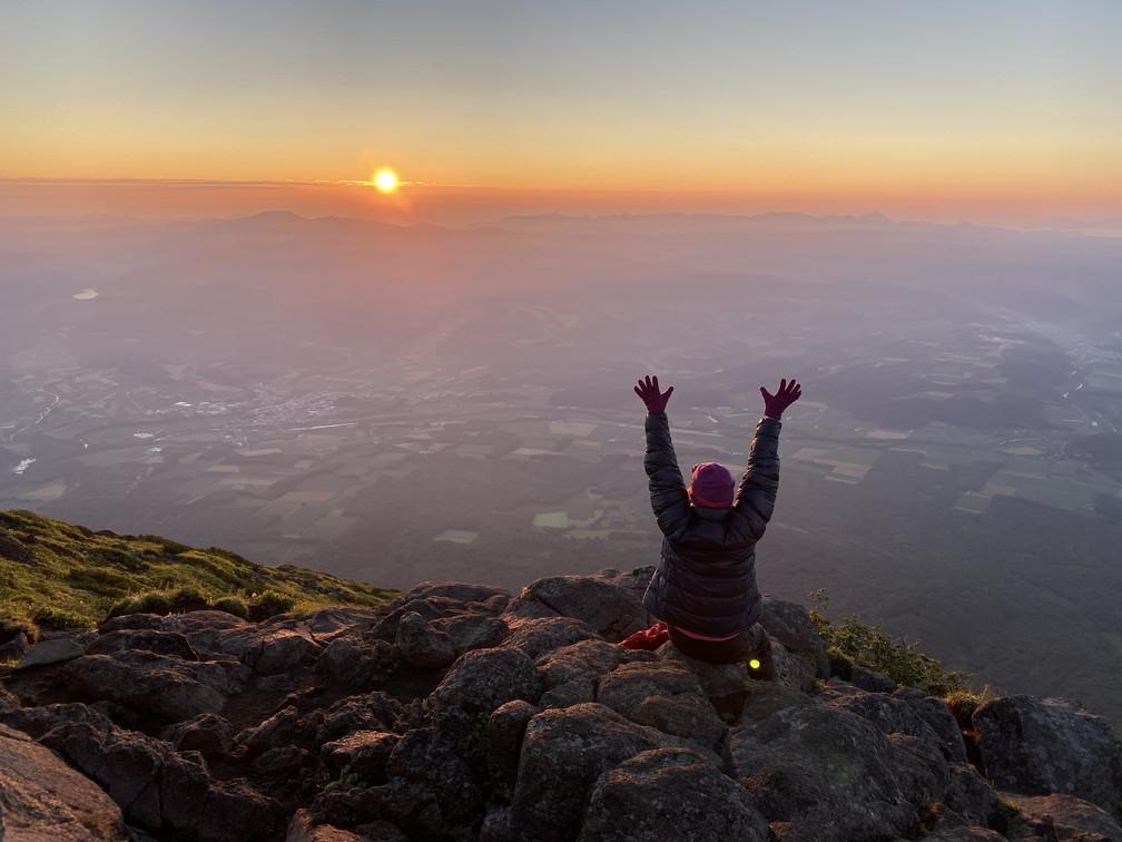 """2020年7月 『羊蹄山、山頂ビバーク』 July 2020 \""""Bivouac on the Summit Mt Yotei\""""_c0219616_16565512.jpg"""