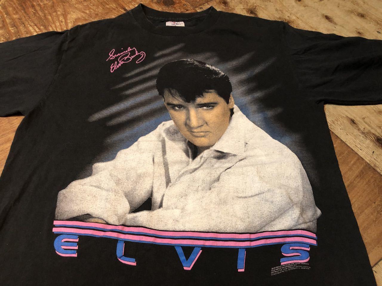 8月2日(日)入荷!90s MADE IN U.S.A ELVIS エルビス Tシャツ!_c0144020_13334249.jpg