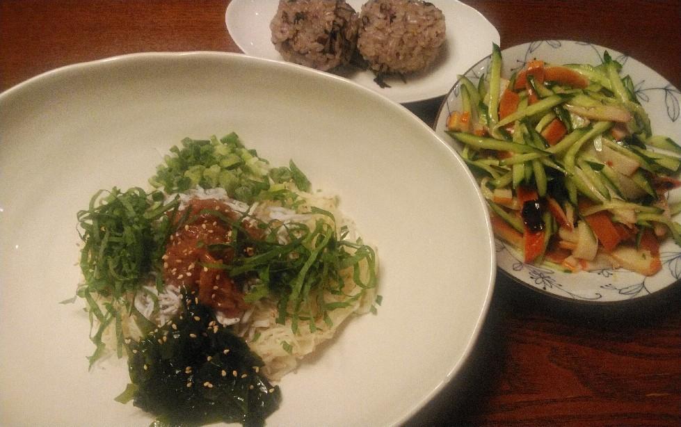 TOCHEE\'S kitchen・・・「冷たい麺」編_a0144626_06435389.jpg