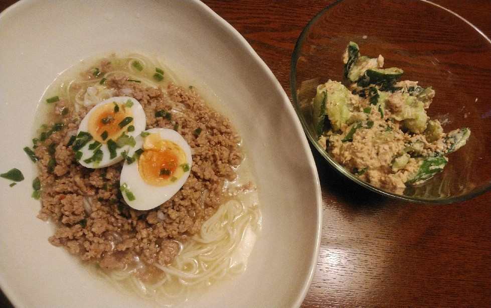 TOCHEE\'S kitchen・・・「冷たい麺」編_a0144626_06444268.jpg