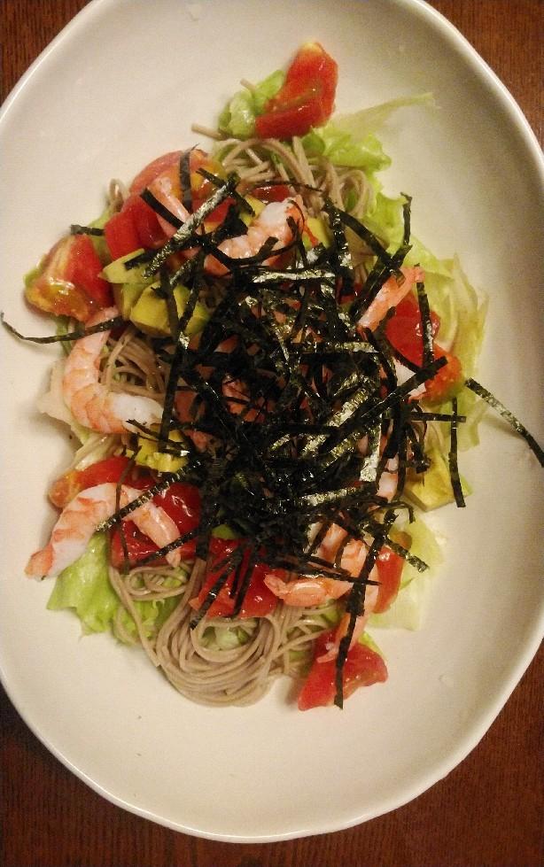 TOCHEE\'S kitchen・・・「冷たい麺」編_a0144626_06485324.jpg