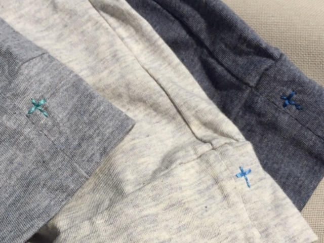 新作! TOP BLUE ORGANIC COTTON  T SHIRTS 出来ました♪_d0108933_19335966.jpg