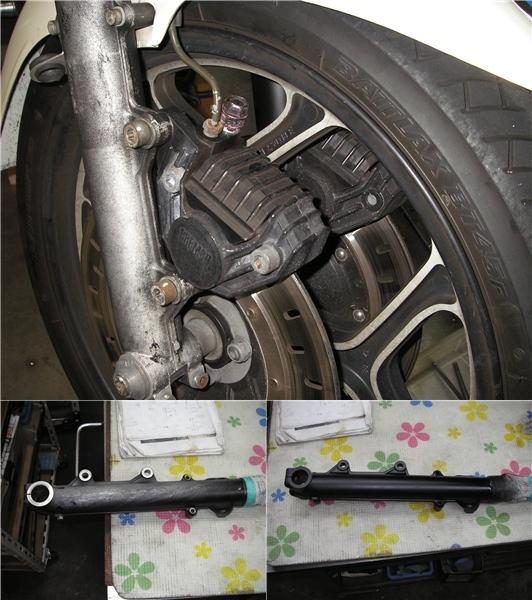 BMW R100RS   フロントカウルの変更⇒イモラtypeへ_e0218639_10174949.jpg