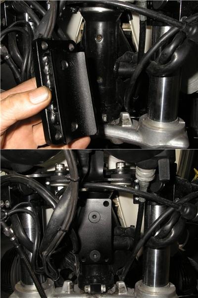 BMW R100RS   フロントカウルの変更⇒イモラtypeへ_e0218639_10185476.jpg
