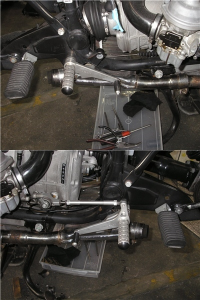 BMW R100RS   フロントカウルの変更⇒イモラtypeへ_e0218639_10210228.jpg