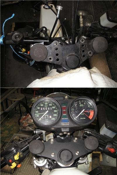 BMW R100RS   フロントカウルの変更⇒イモラtypeへ_e0218639_10221430.jpg