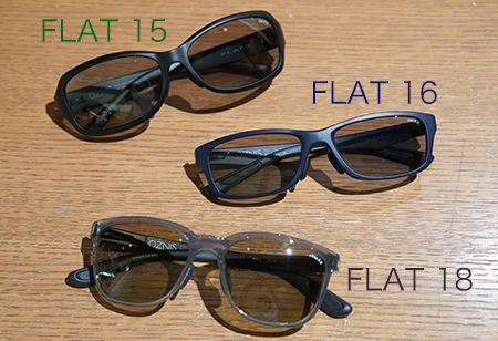 OZNIS オズニス新型!「FLAT15・16・18」_e0267277_19180198.jpg
