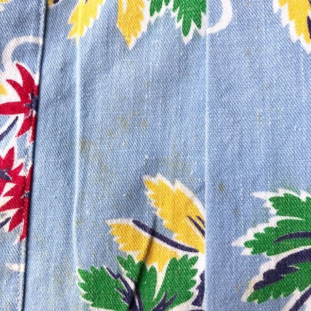 Cotton Hawaiian Shirt_c0146178_12015931.jpg