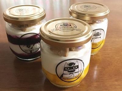 メルシーベイク風マンゴーとブルーベリーのレアチーズケーキ_f0231189_17270743.jpg