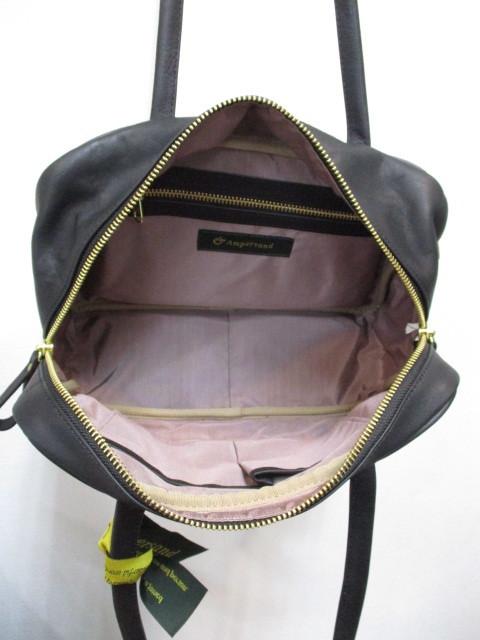 Ampersand アンパサンド Ampersand tanning boston bag M NO:0219-405_e0076692_11410993.jpg