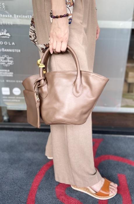 Ampersandアンパサンド Ampersand leather baske bag S 0220-134_e0076692_13263622.jpeg