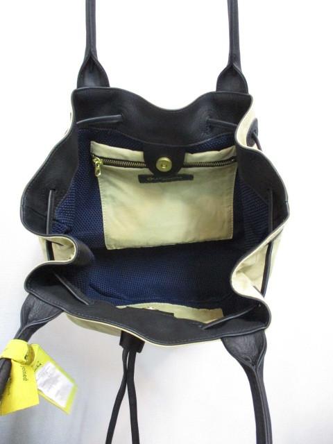 Ampersand アンパサンド Ampersand bicolor nylon tote bag720-224_e0076692_13424758.jpg