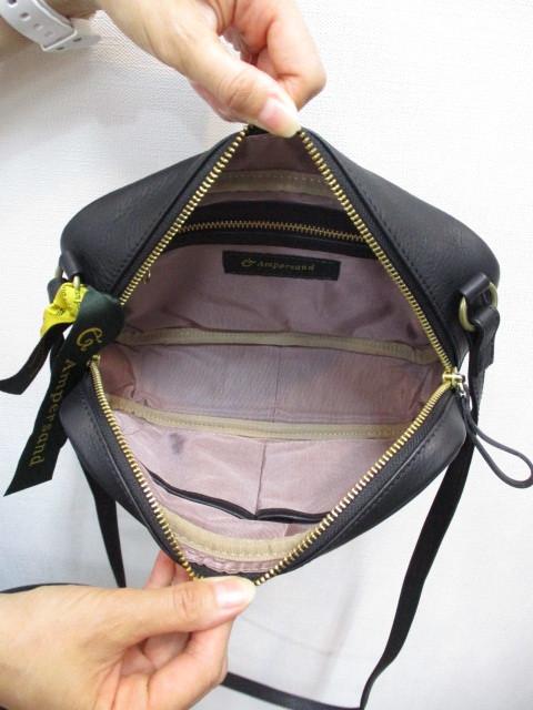 Ampersand アンパサンド Ampersand tanning shoulder bag 0419-401_e0076692_14454866.jpg