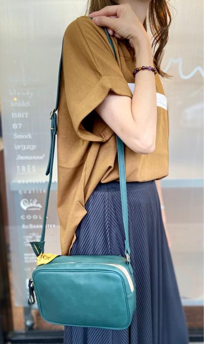 Ampersand アンパサンド Ampersand tanning shoulder bag 0419-401_e0076692_14492760.jpg