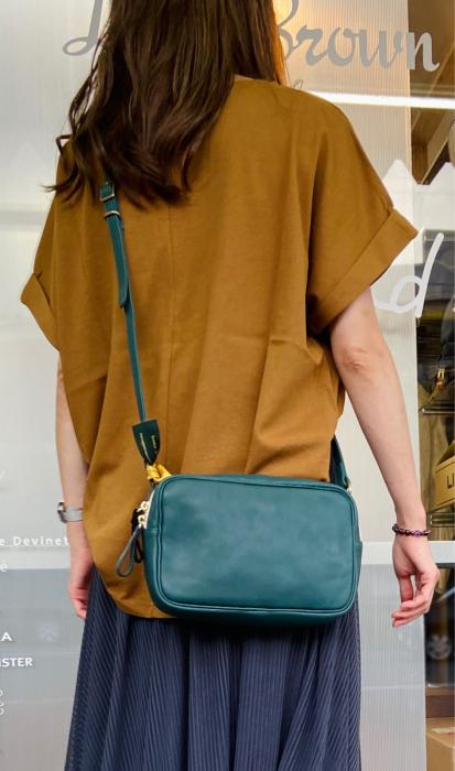 Ampersand アンパサンド Ampersand tanning shoulder bag 0419-401_e0076692_14502042.jpg
