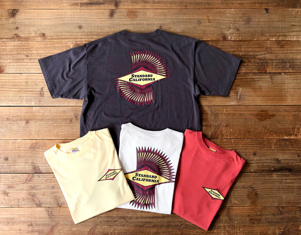 【DELIVERY】 STANDARD CALIFORNIA - Classic Surf Logo T_a0076701_16472970.jpg
