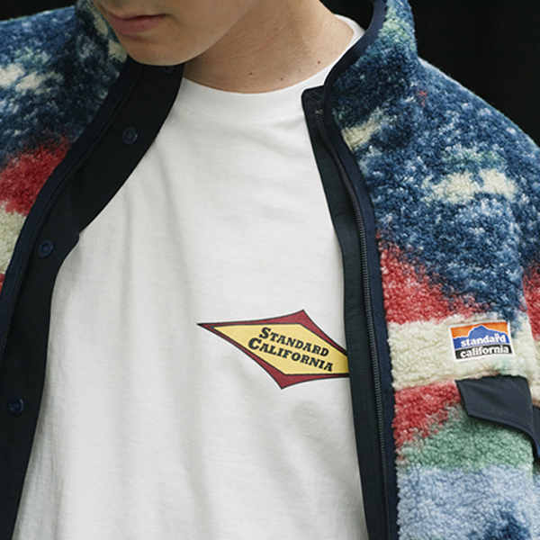 【DELIVERY】 STANDARD CALIFORNIA - Classic Surf Logo T_a0076701_16513409.jpg
