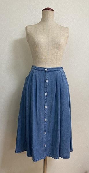 市販のスカートをコピーしました。_c0319009_14272349.jpg