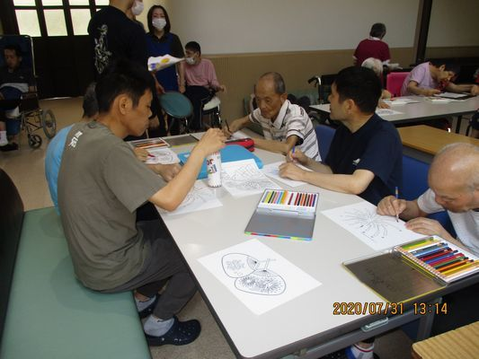 7/31 日中活動_a0154110_15360155.jpg