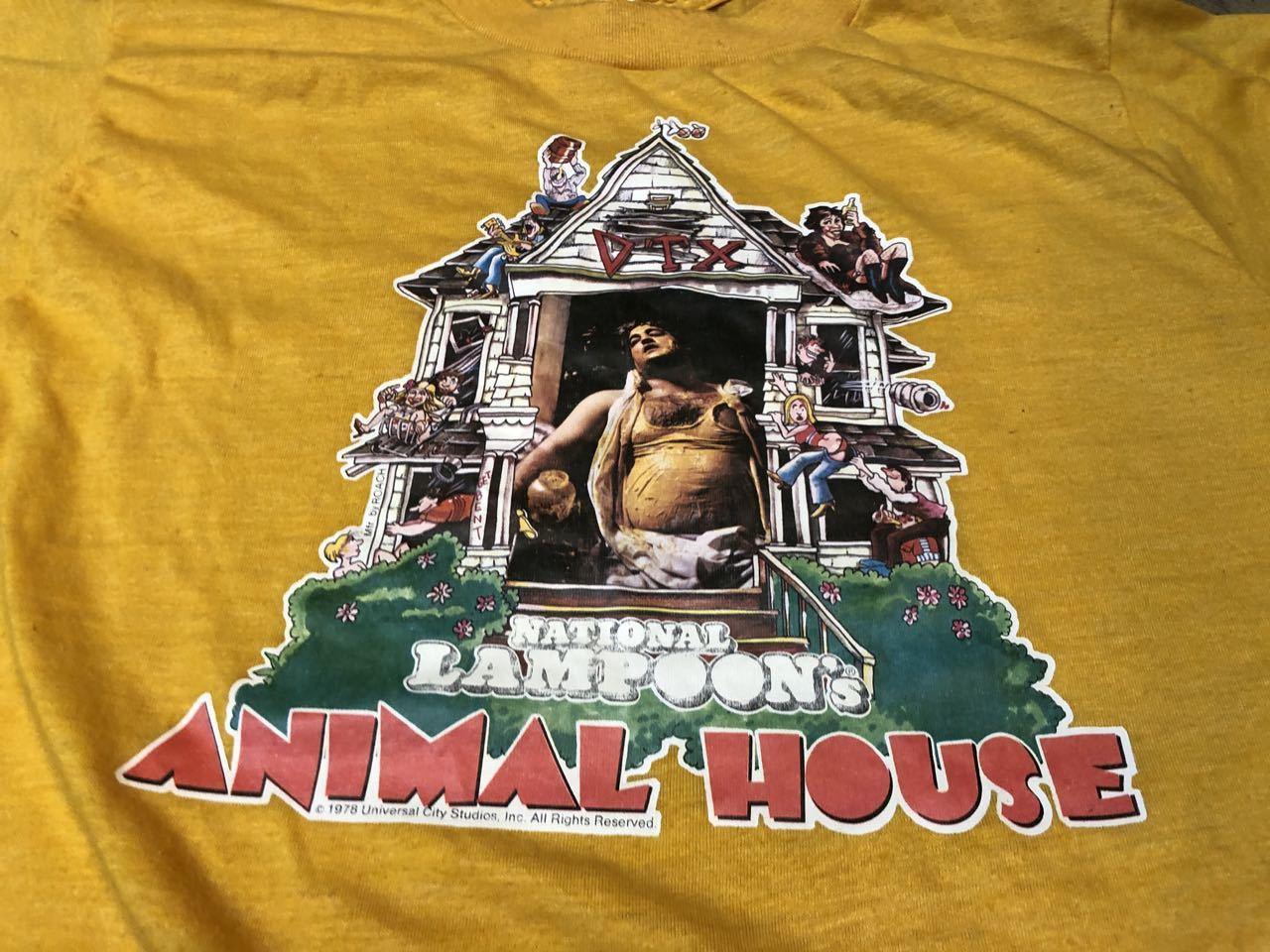 8月3日(月)入荷!70s 映画 アニマルハウス Tシャツ! ジョンベルーシ/映画T/movieTシャツ_c0144020_13232485.jpg