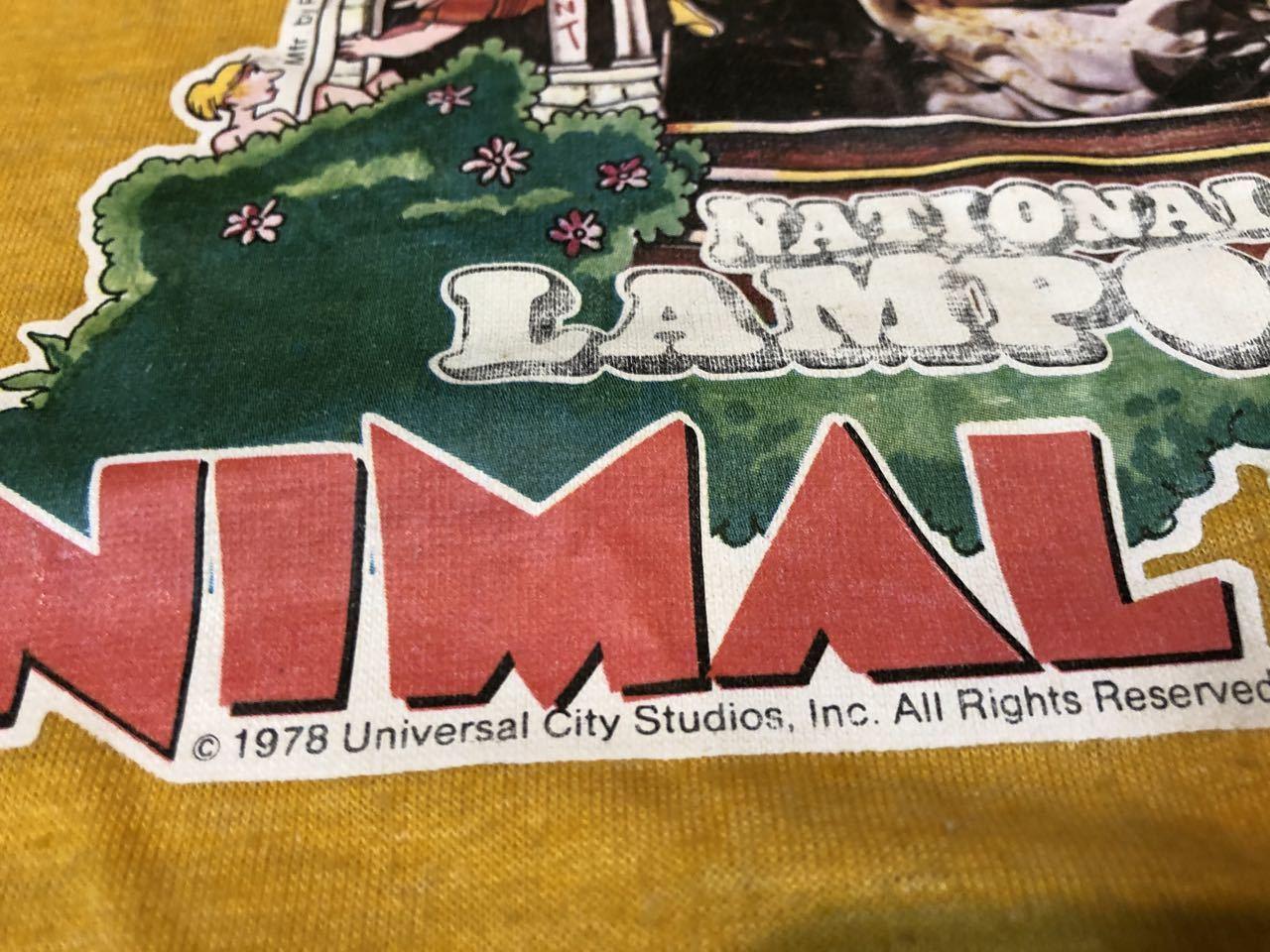 8月3日(月)入荷!70s 映画 アニマルハウス Tシャツ! ジョンベルーシ/映画T/movieTシャツ_c0144020_13233162.jpg