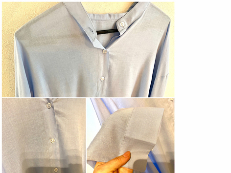 カッコいいゆるさで、すっぽりカバー!なバンドカラーシャツ / マスク比べてみました_a0393224_18140205.jpg