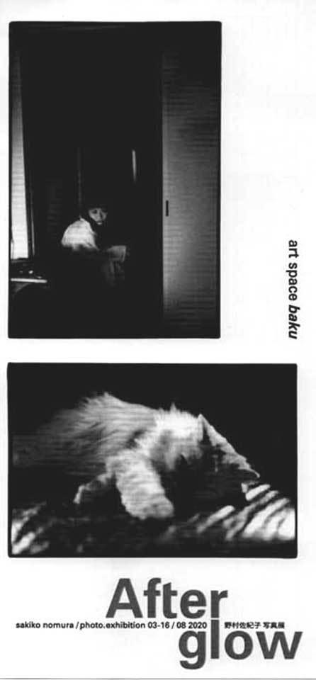 野村佐紀氏 写真展「After glow」_b0187229_14300337.jpg