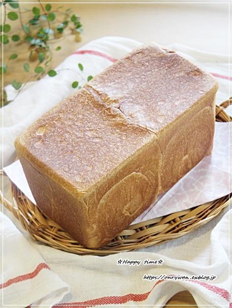 おうち鮭フレークのっけ盛り弁当とパン焼き♪_f0348032_16321482.jpg