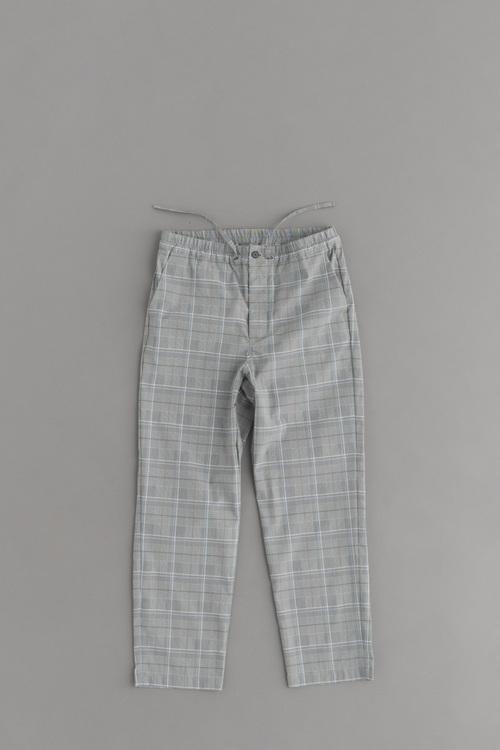 STILL BY HAND Grey Check Easy Pants_d0120442_1813408.jpg