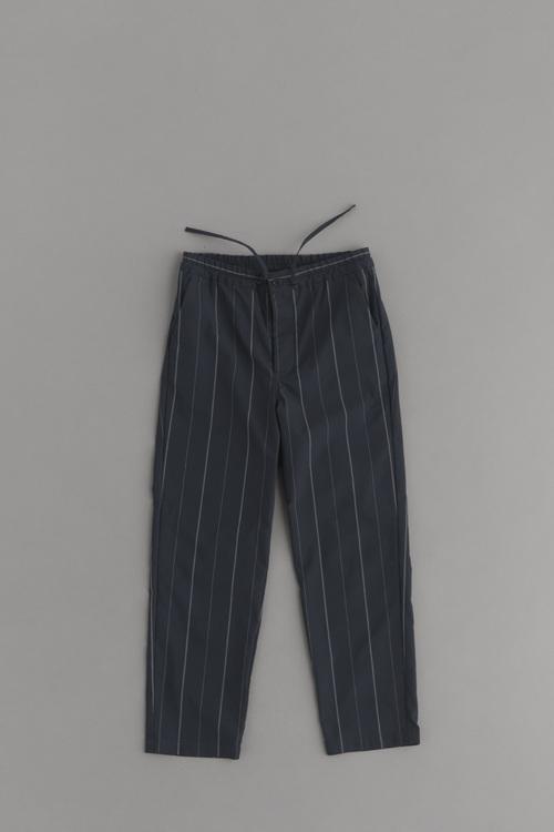 STILL BY HAND Grey Check Easy Pants_d0120442_18211170.jpg