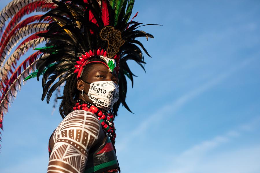 今年のカリビアンパレードは バーチャル フェスティバル。_f0293042_11003109.jpg