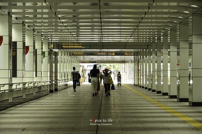 西新宿 #地下道①_f0326278_23174147.jpg