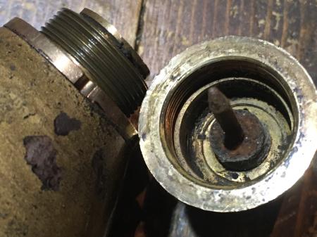 三八式榴弾 榴散弾・処理済の合法品_a0154482_14513440.jpg