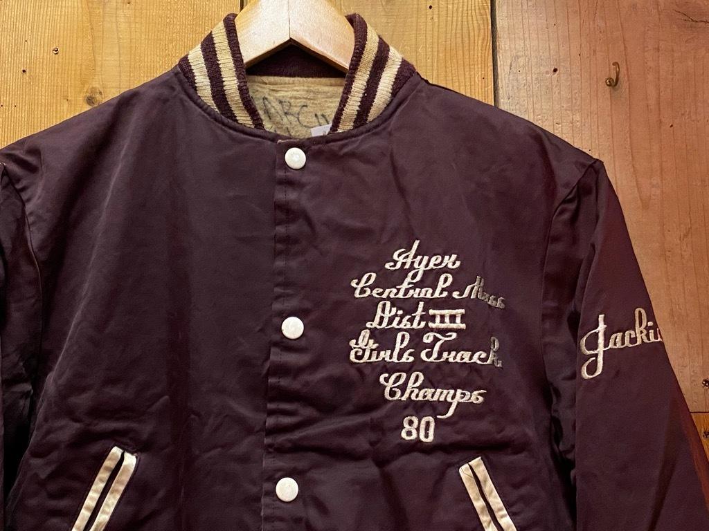 """8月8日(土)マグネッツ大阪店入荷日!\""""Nylon/Satin Varsity JKT Made In USA Part1\""""!!(マグネッツ大阪アメ村店)_c0078587_17494233.jpg"""