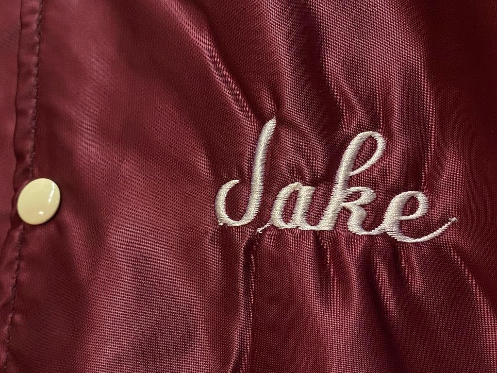 """8月8日(土)マグネッツ大阪店入荷日!\""""Nylon/Satin Varsity JKT Made In USA Part1\""""!!(マグネッツ大阪アメ村店)_c0078587_17510821.jpg"""
